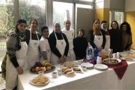 Ricucire, premiate le migliori partecipanti al corso di cucina