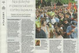La Repubblica intervista padre Giuseppe per la manifestazione People. Prima le persone