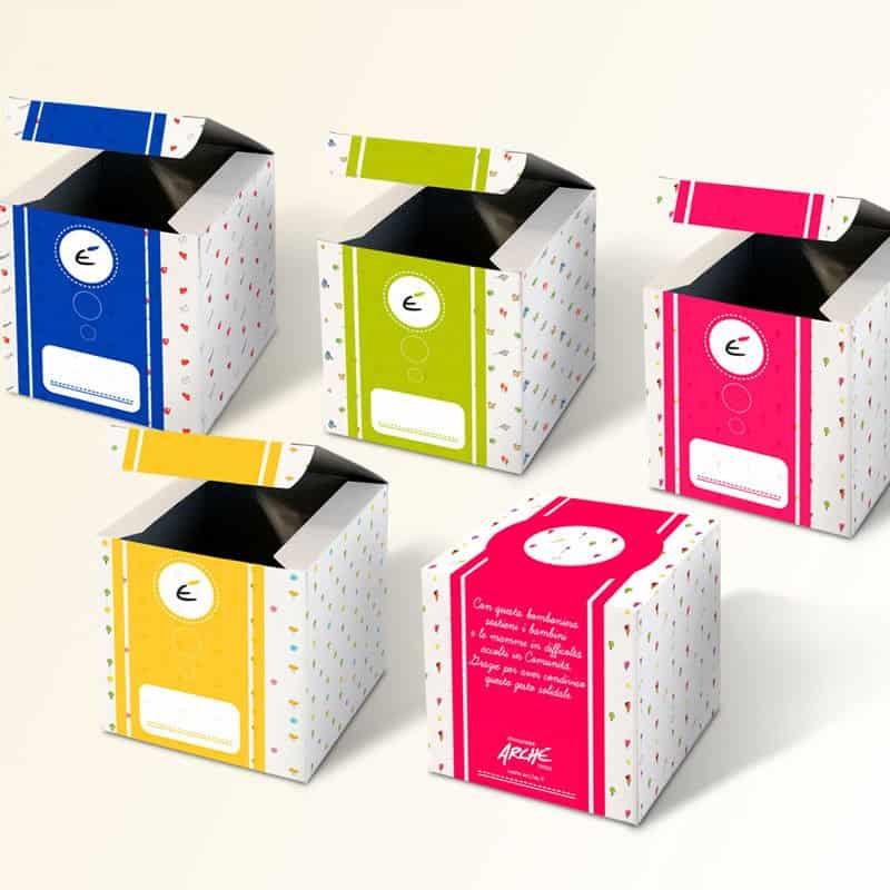 bomboniere solidali scatolina portaconfetti