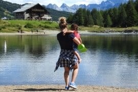 Arché va alla montagna: la vacanza a Vezza d'Oglio