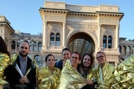 Varie testate annunciano l'appuntamento del 3 ottobre in piazza Duomo