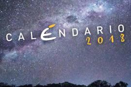 Ecco il nostro calendario 2018. Un anno gocciolante di stelle