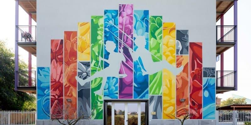 La Corte di Quarto si colora con un murale!